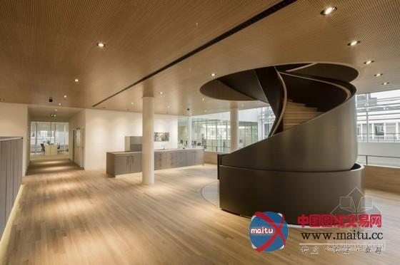 荷兰现代办公楼室内设计 时尚优雅