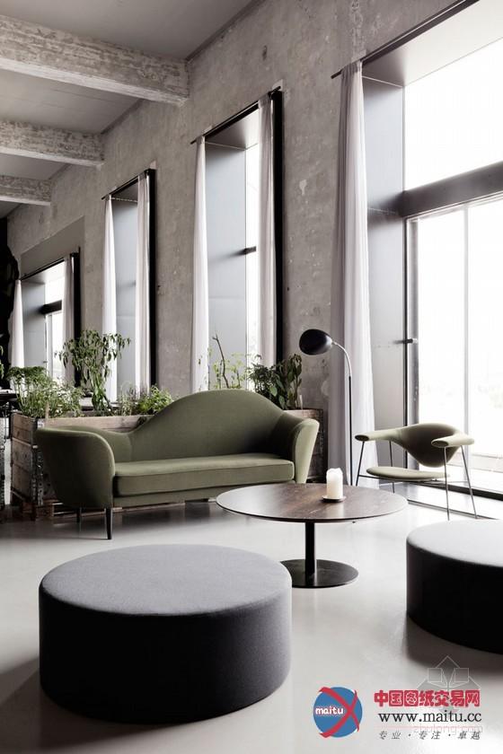 丹麦废弃船厂改建餐厅设计 空间个性十足