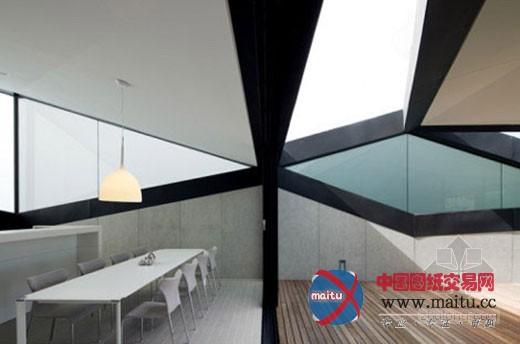 斜坡屋顶住宅设计 感受三角形的魅力-室内设计-中国