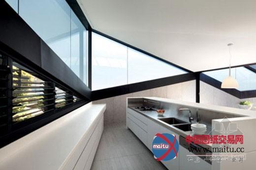 斜坡屋顶住宅设计 感受三角形的魅力