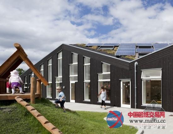 丹麦零碳可持续莱恩斯太阳堡幼儿园-建筑设计-中国