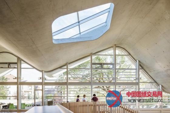 加拿大未来图书馆设计 现代未来感强烈-室内设计-中国
