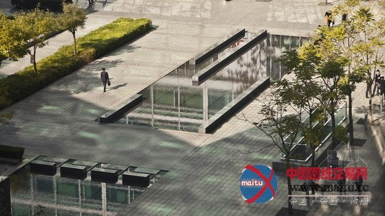 swa设计的中国北京金融街