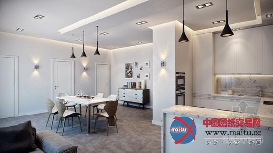 摘要:这家时尚的德国公寓由Alexander Zenzura设计,主体区由客堂、餐厅和厨房构成,同时还兼备一个自力的阳台。设计师奇妙地利用家具、墙壁、玻璃等对功能区进行距离,又不粉碎空间宽阔感。 时尚的德国公寓设计,采取通透落地玻璃,不但延展了客堂的宽度,开辟整体视野,还大年夜大年夜地加强了客堂的采光,除此以外,阳台上的花草也为客堂增加了良多朝气活力。立面的墙、天花板上的灯,使之成为餐厅、厨房、客堂的分边界,奇妙地区隔出三个属性不合的场域,可视野上又能一览无遗,保持通透开放的视觉结果。给人揭示出布满自由开