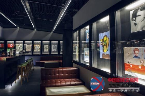 200平米艺术画廊酒吧设计 享受不同种艺术