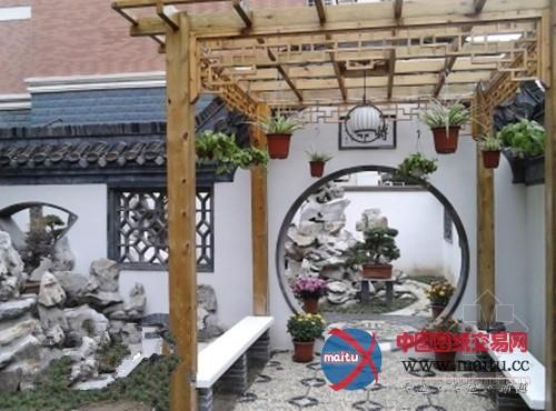 江苏别墅院子里造私家园林