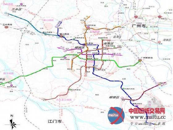 广东佛山地铁二号线年内开建 2018年底通车图片
