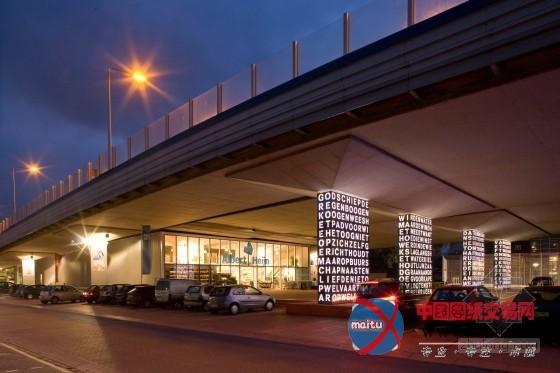 nl architects设计的荷兰a8高速公路公园图片