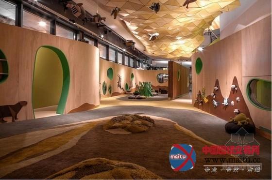 阿巴斯托儿童博物馆体验中心 娱乐空间的感官盛宴