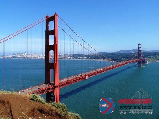金门桥的设计者是工程师史特劳斯.