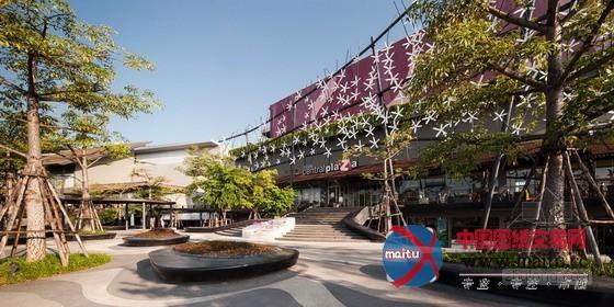 shma公司设计的泰国清莱中环广场-园林景观-中国图纸