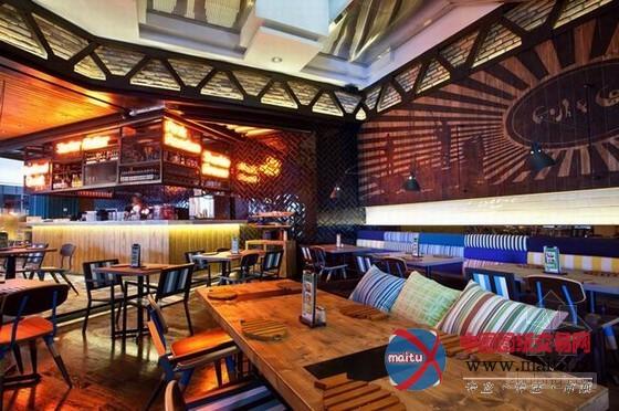 餐厅装修设计 混合元素独特韵味-室内设计-中国