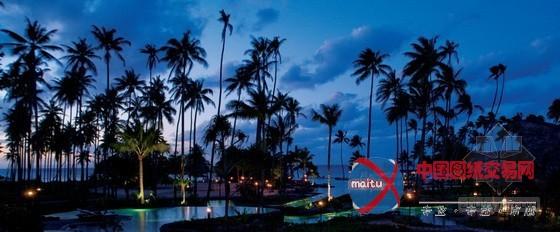 斐济laucala私人海岛度假村景观