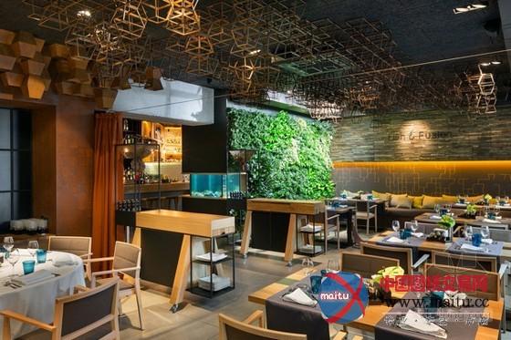 餐厅装修设计 元素十分丰富多变-室内设计-中国