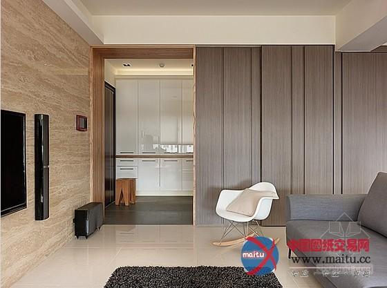 台湾室第室内装修设计由创境设计,考虑小我糊口的形态,在设计大将室内首要居室打开、串连,除能具有更好掌控的法度外也获得了空间的深度,适在的距离、宽度,带来喘气的空间。 台湾室第室内装修设计,透过壁面清算拉平,还原纯真的动线及空间区块,灰褐色直纹的壁面加深清爽的印象。