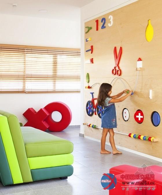 以色列幼儿园装修设计-室内设计-中国图纸