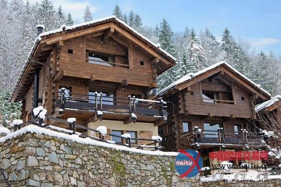 斯滑雪木屋别墅设计