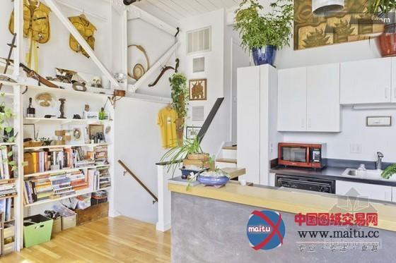 波士顿loft公寓设计 清新温暖-室内设计-中国图纸交易