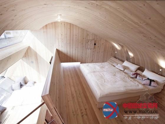 奥地利的鸟型ufo式小型度假屋
