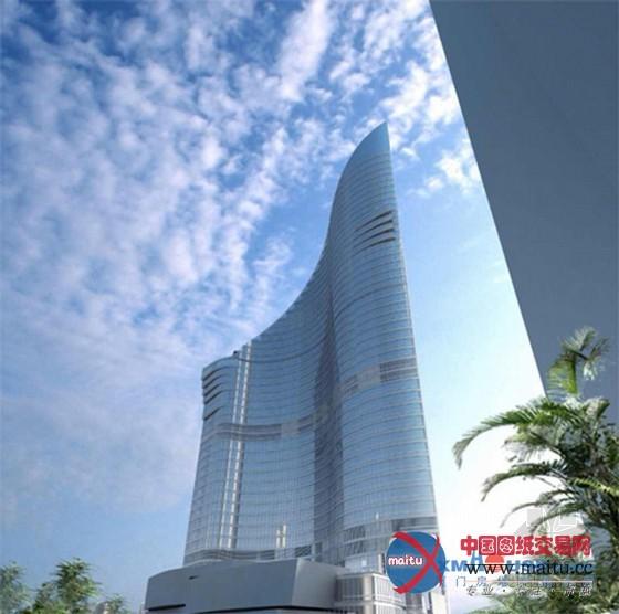 世茂海峡大厦:超五星级酒店开建 效果图公开