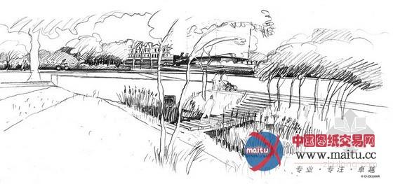 圣雅克生态公园景观规划设计-园林景观-中国图纸交易网