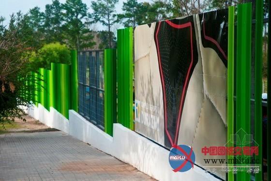 乌拉圭杜拉斯诺体育中心围墙设计-园林景观-中国图纸