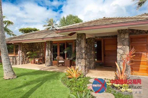夏威夷别墅 1670平方米的宅邸直通海滩
