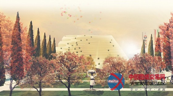 lad等设计的2015米兰世博会伊朗展馆获竞赛第一