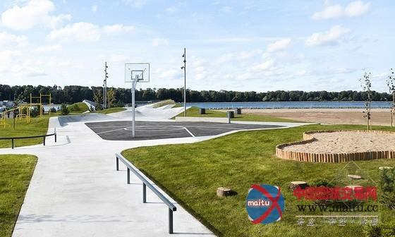 丹麦莱姆维滑板公园