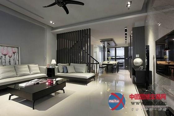 台中现代自然风格优雅住宅 时尚温润氛围图片