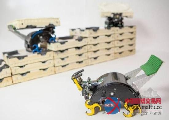 自动盖楼建筑机器人具有像白蚁一样社会职能-建筑结构