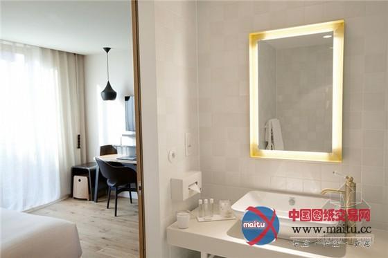 法国古堡式养马场主题酒店设计-室内设计