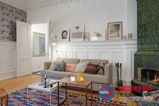芬兰清新复古家居装饰