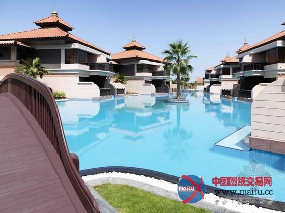 迪拜棕榈岛安纳塔度假酒店设计
