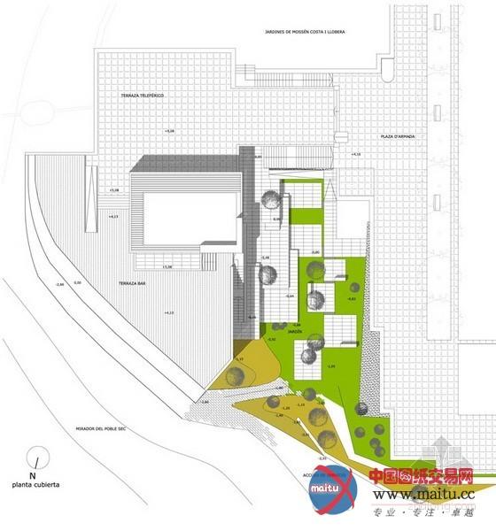 长方形花圃设计平面图