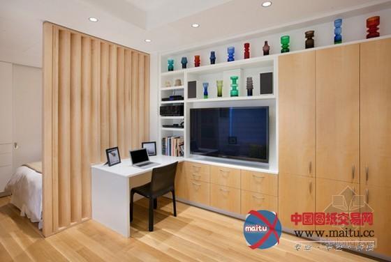 纽约曼哈顿31平方小户型家装设计-室内设计