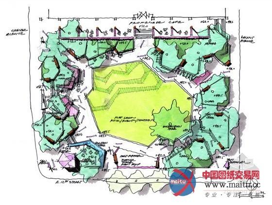 美国perk公园景观设计