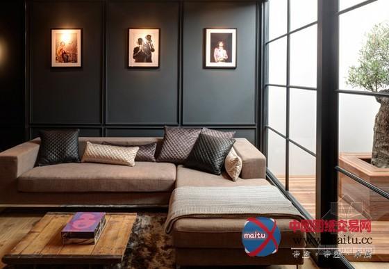 伦敦联排别墅装修设计 现代复古的华贵气息
