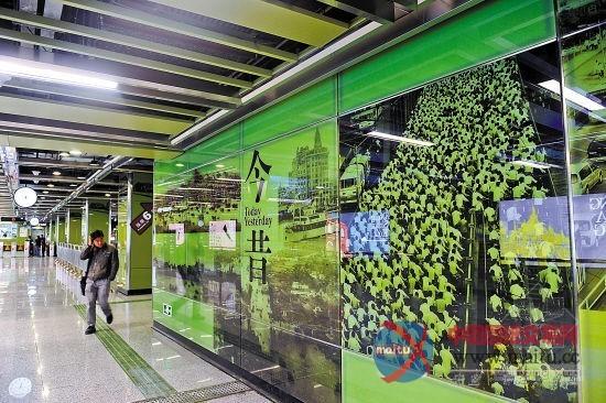 昨日,广州地铁发布招标方案,筹算花775万元在公园前站,海珠广场站