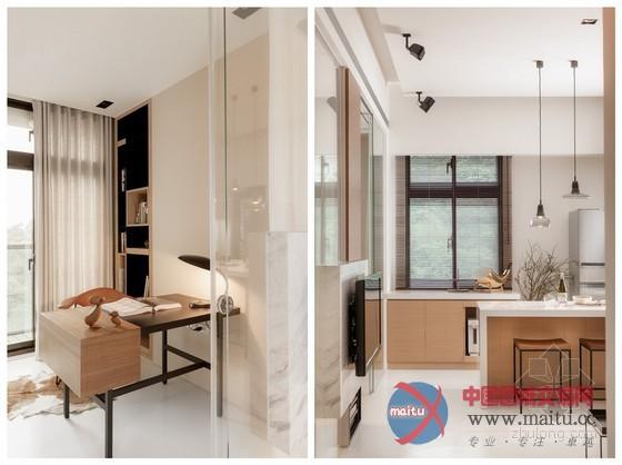 台湾时尚清新小户型家居装修室内设计