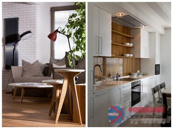 乌克兰主题单身公寓设计