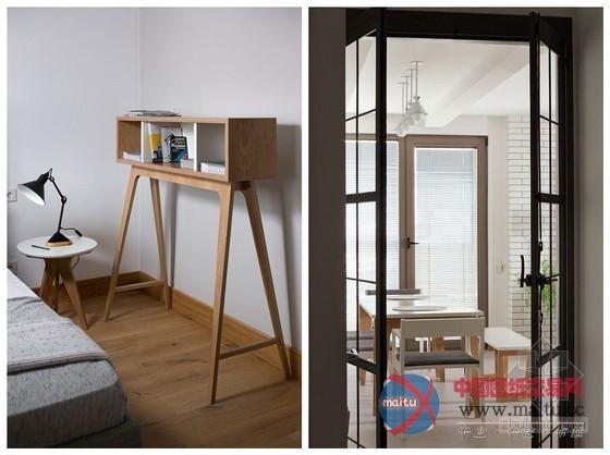 乌克兰主题单身公寓设计 简单自然的氛围-室内设计
