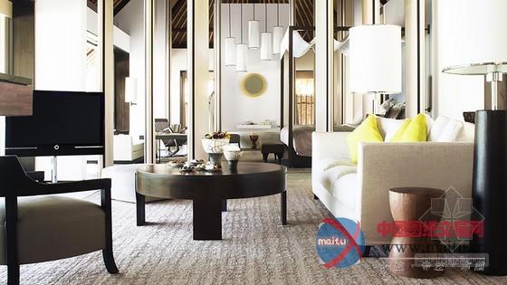 精美布置 马尔代夫白马庄园酒店设计