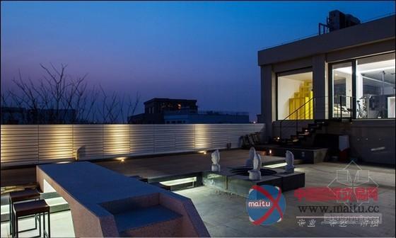 北京多元素透天别墅设计 宁静写意的空间氛围