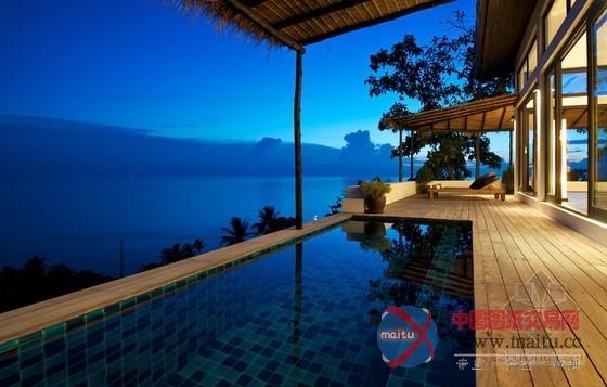 泰国涛岛热带风情度假别墅设计