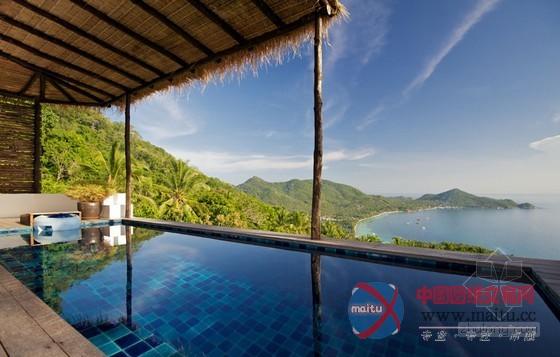 泰国涛岛热带风情度假别墅设计 绝佳度假胜地
