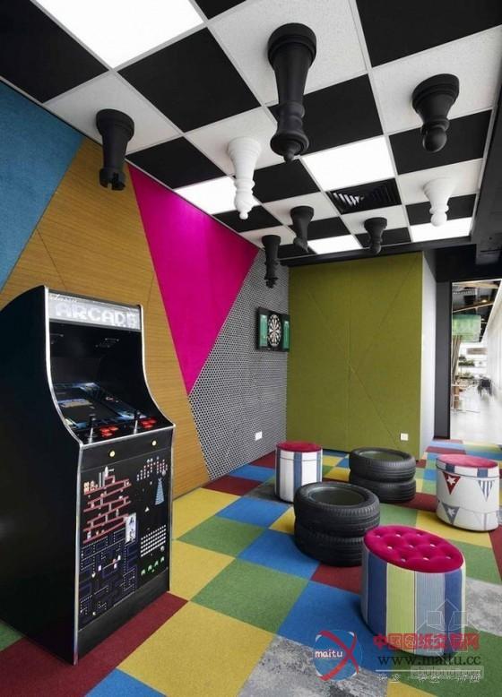 马来西亚谷歌新办公室设计 五颜六色的丛林氛围
