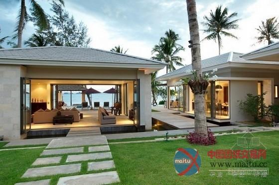 泰国风情苏梅岛inasia度假别墅