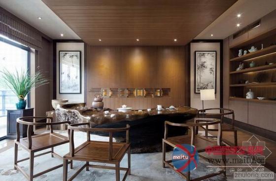 中式禅意之美-室内设计-中国