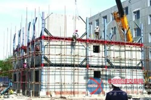 钢结构住宅试验楼,面积1036平方米